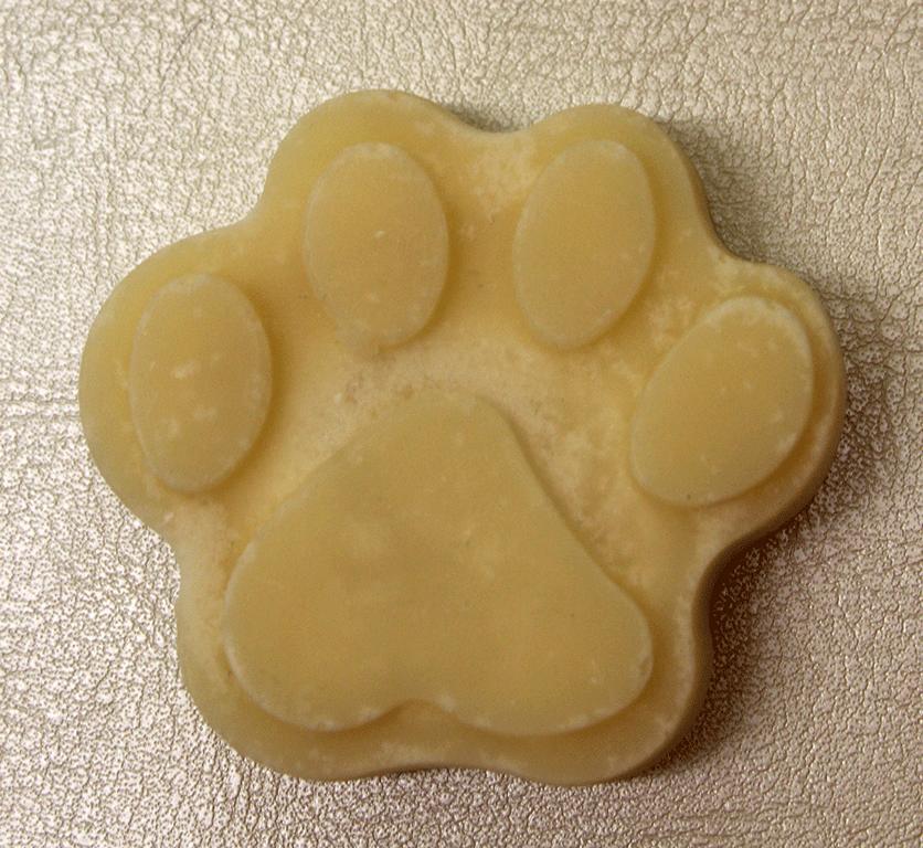 Hundeseife Pfote